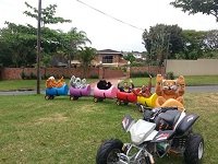 this a image of a Barrel Train