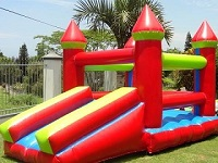 image of Jumping Castle red,ble and yellow
