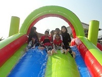 image of Foam Slide Combo