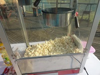 this is a image of a Popcorn machine